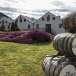Barrels outside Glenlivet