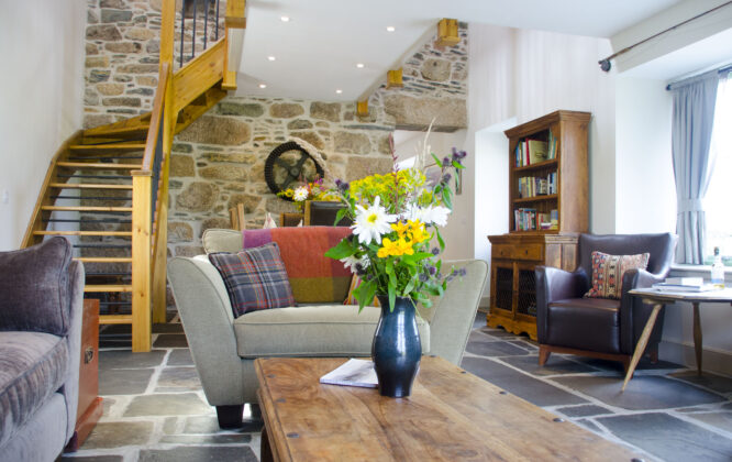 Image of Auchnascraw Mill living room