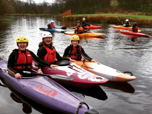 Craggan Easter Sunday Kayak Fun