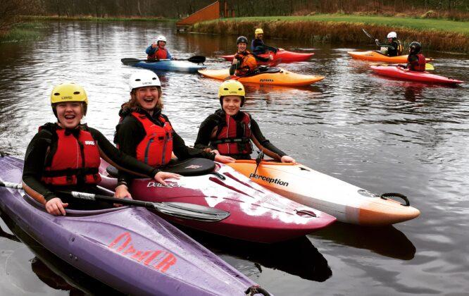 Craggan Easter Sunday Kayak Fun