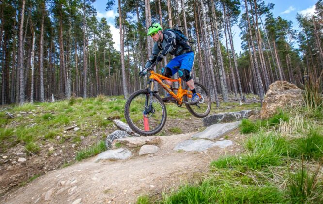 Glenlivet Bike trails