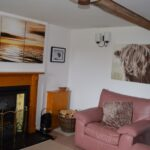 Another picture of Moray Cottages living room