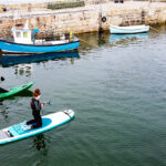 Cullen Sea School SUP session. Image credit Faramagan