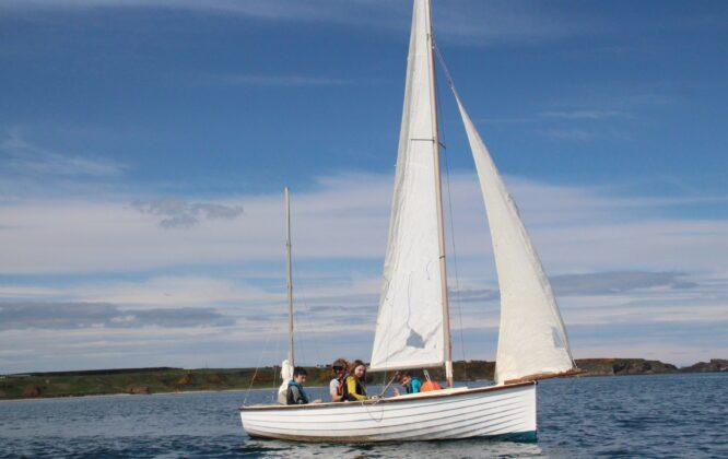 Cullen Sea School Sailing Session