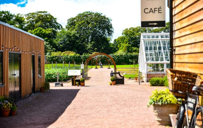 Picture of Gordon Castle Walled Garden café