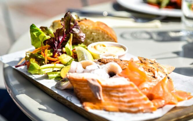 Picture of food at Gordon Castle walled garden
