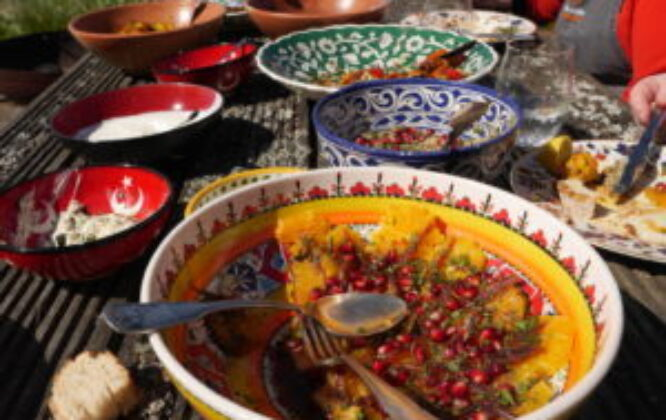 Ghillie Basan Cookery Workshops