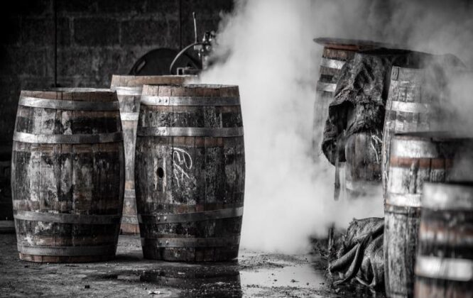 Picture of some barrels