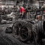 Picture of a scrap yard