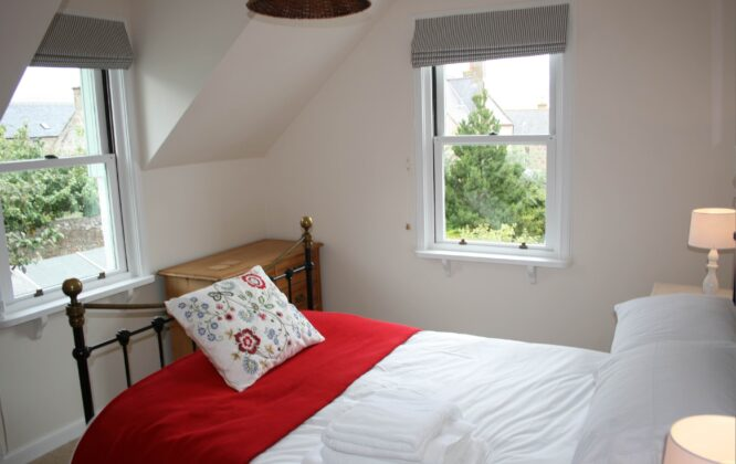 Picture of a double room