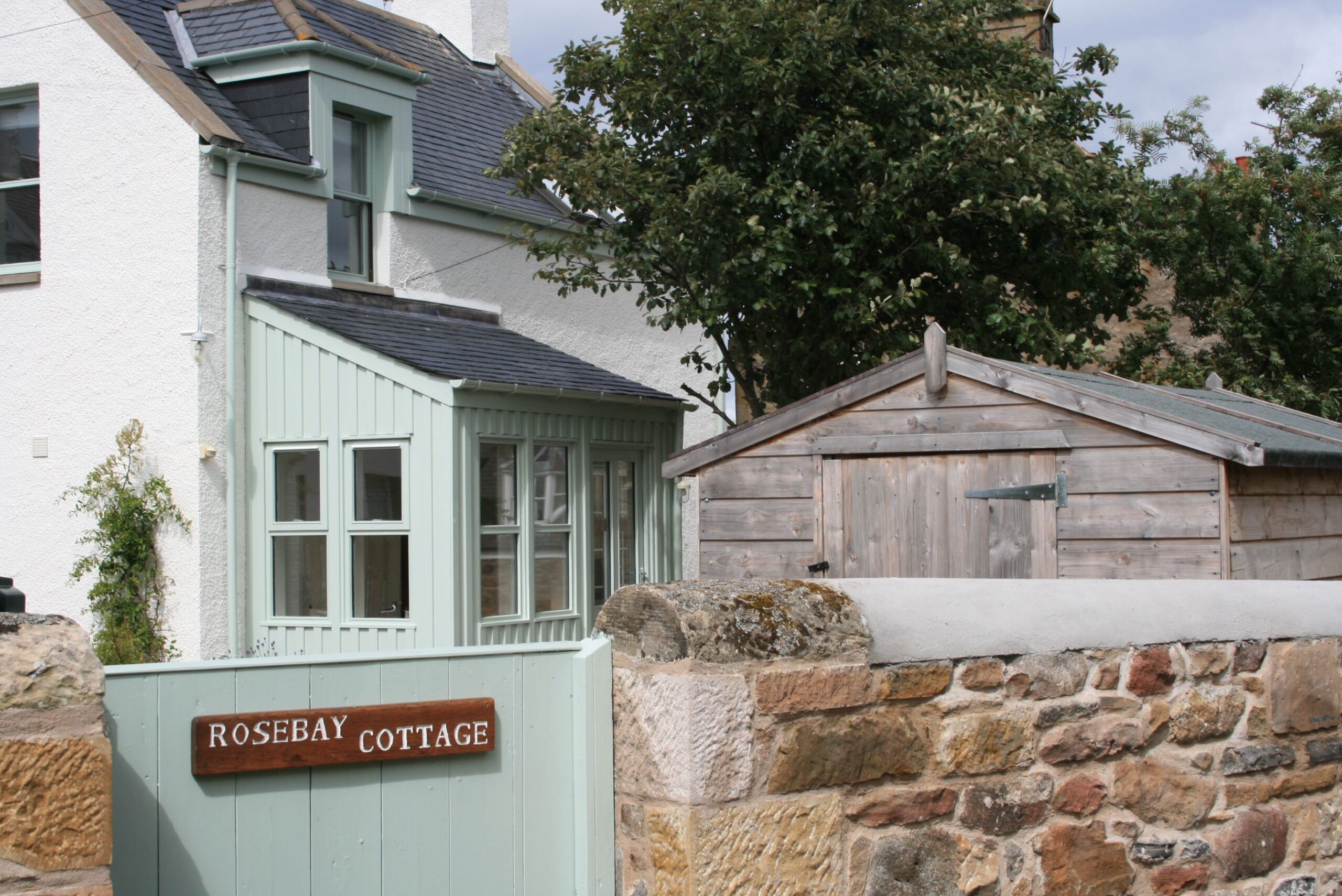 Rosebay Cottage front