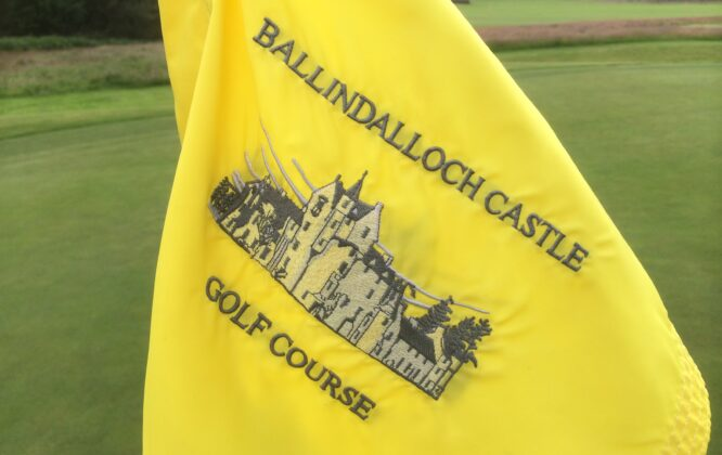 Picture of Ballindalloch Castle golf flag