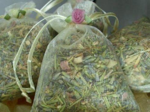 Picture of a bag of herbs