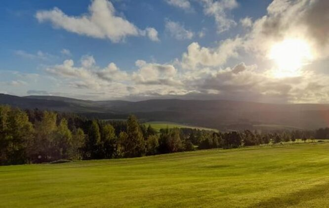 Picture of view from Dufftown golf club
