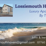 Advert for Lossiemouth Haven