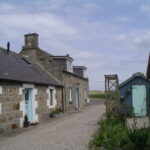 Picture of a row of cottages