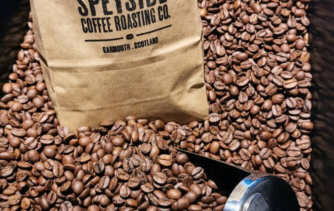 Picture of Speyside coffee beans