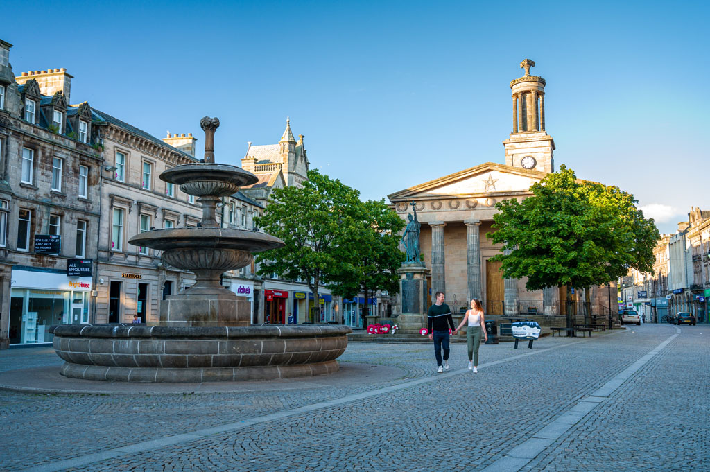 Picture of Elgin town centre
