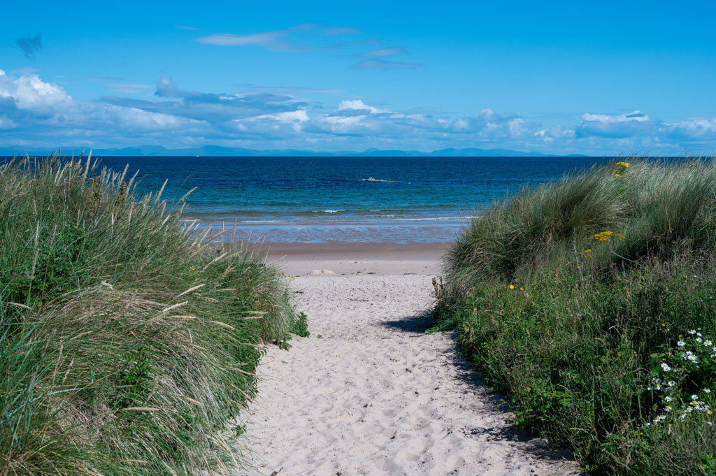 Picture of Burghead beach