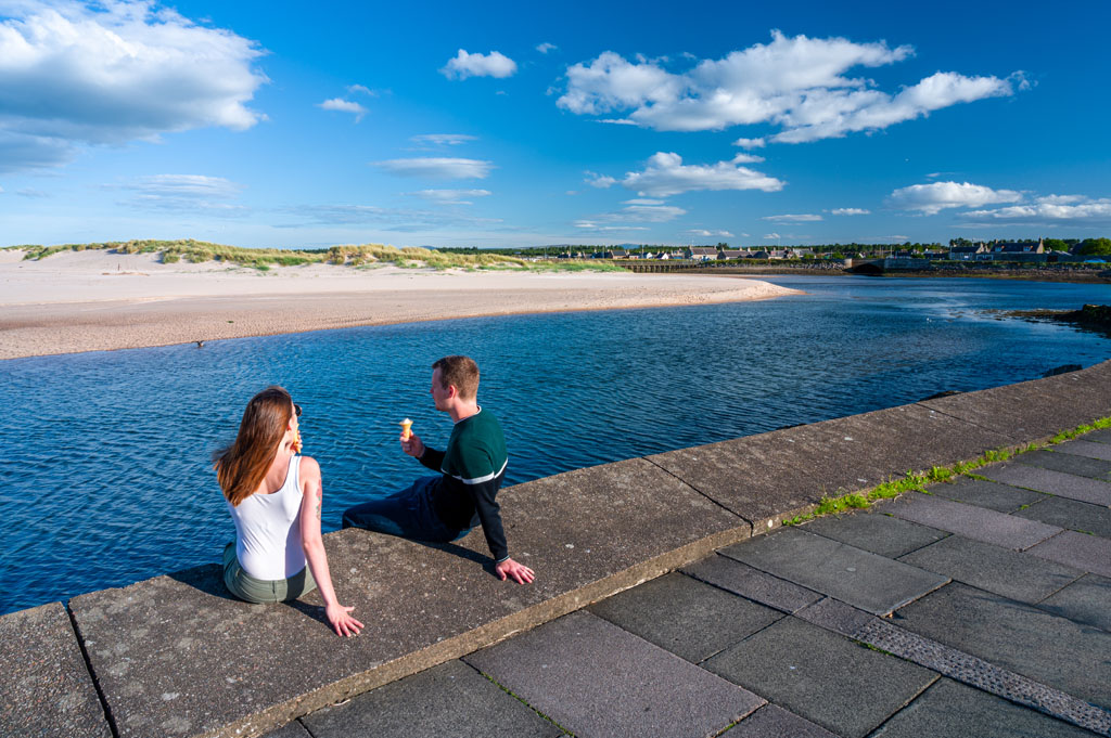 Picture of ice cream in Lossiemouth