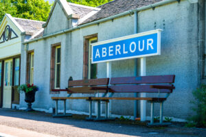 Picture of Aberlour train station