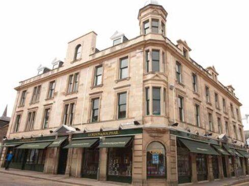 Gordon & Macphail's retail shop in South Street, Elgin, Moray Speyside