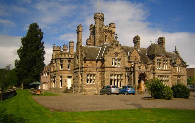 Mansion house in Elgin