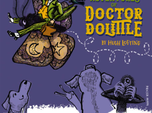 doctor dolittle book cover