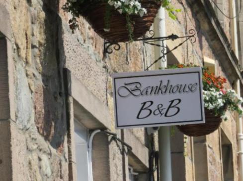 Bank House B&B Sign