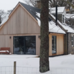 winter day at Drumin Farm Cottage