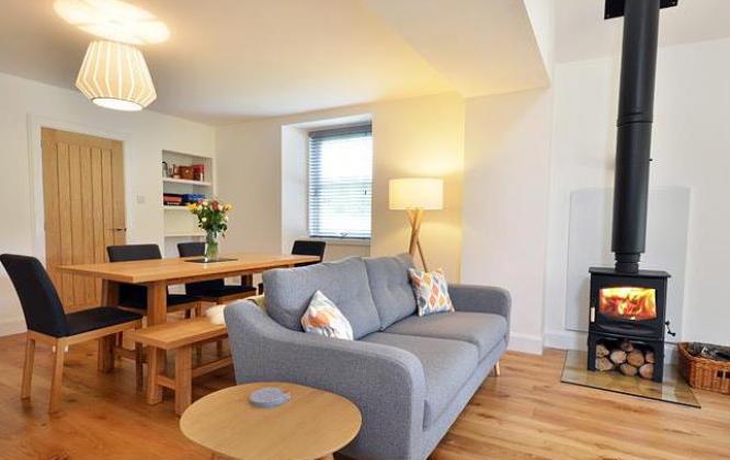 Drumin Farm Cottage living room