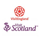 Visit Scotland and Visit England Logo