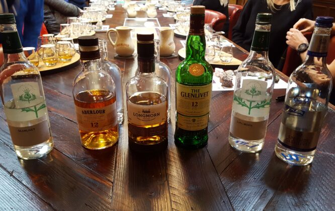 Picture of Alchaholic beverages at Speyside Escapes