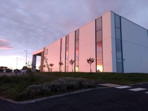 Picture of sunset at Moray Sports Centre