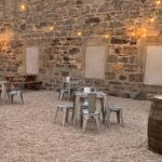 Picture of outdoor seating area at Badenochs