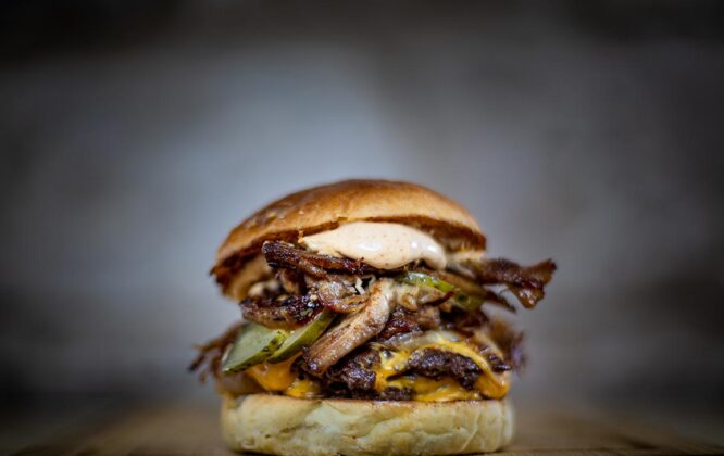 Picture of Badenochs burger
