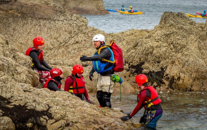 Coasteering with Outfit Moray