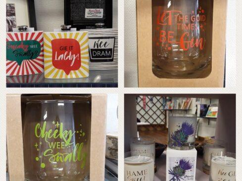 Picture of gifts at Mackenzie & Cruickshank