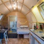 Picture of inside cabin at The Loft
