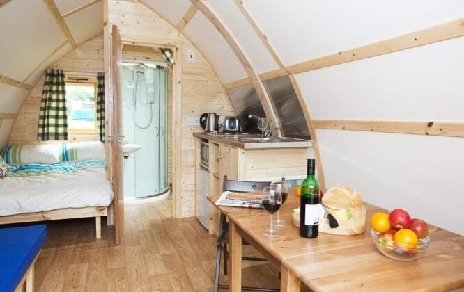 Picture of inside another cabin at The Loft