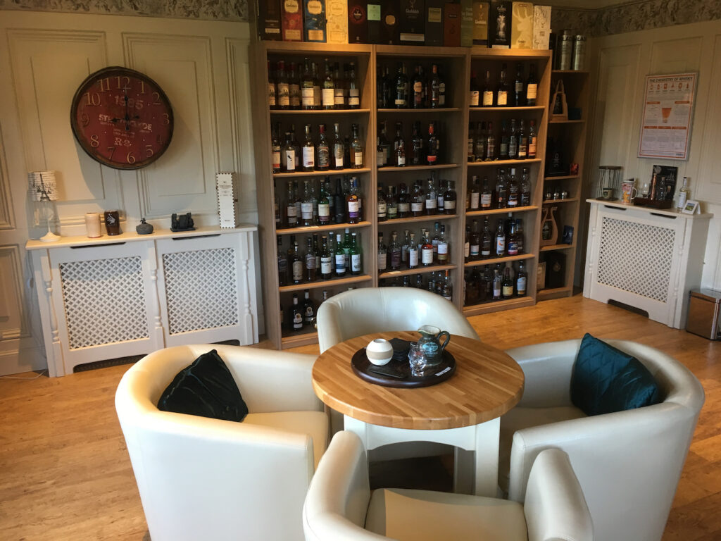 Picture of lounge in The Gables Whisky B&B