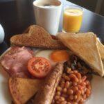 Breakfast at Stotfield Hotel