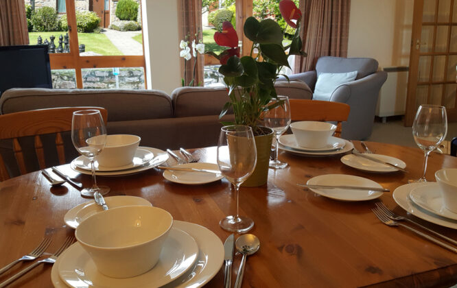 Image of Carden Holiday Cottages Dining