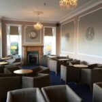 Seating area at Stotfield Hotel