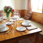 Image of Carden Holiday Cottages Dinner Table