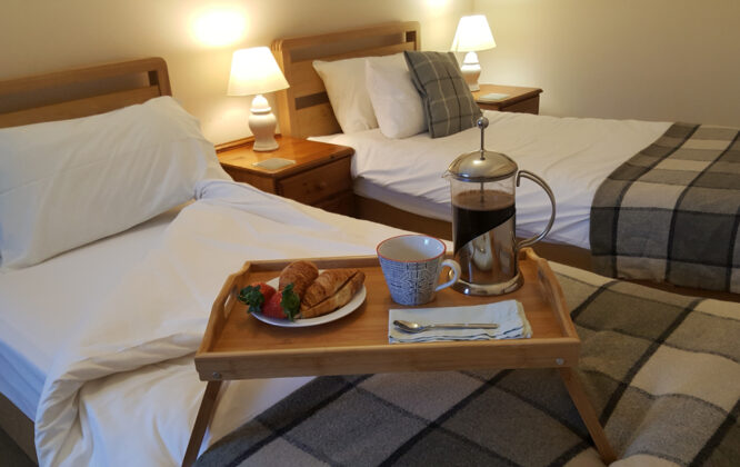 Image of Carden Holiday Cottages Bed in Breakfast