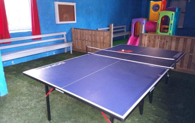 Image of North Alves Holiday table tennis