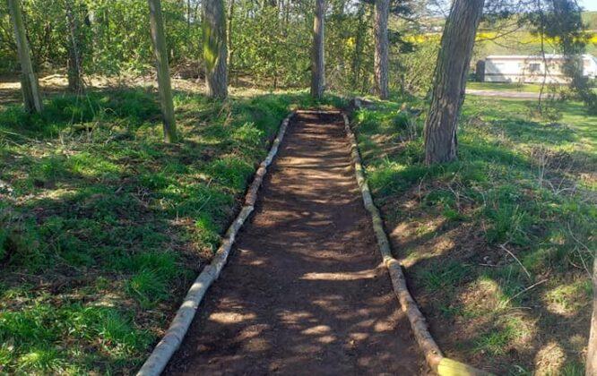 Image of North Alves Holiday Park walk